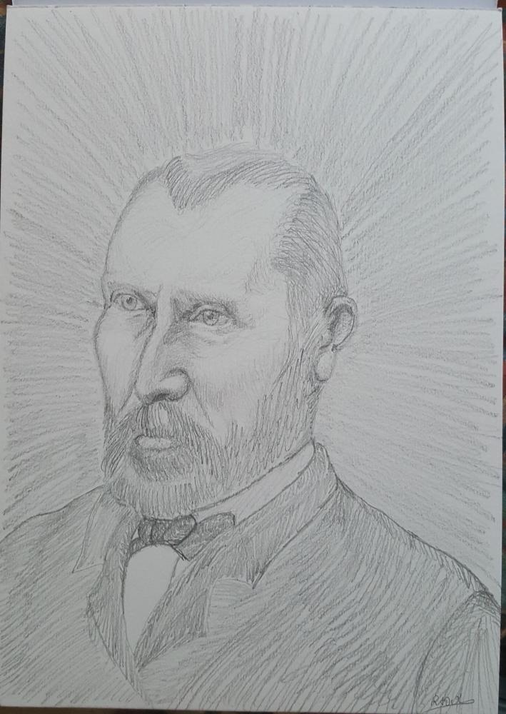 Vincent van Gogh by Raoul.G